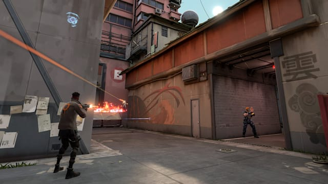 A screenshot from Valorant.
