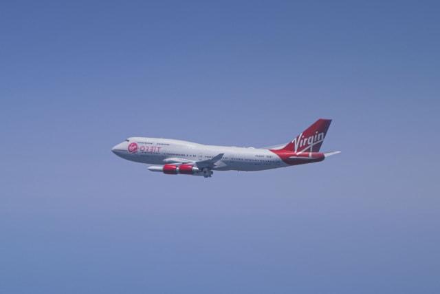 Virgin Orbit demo flight enroute to the 'racetrack'