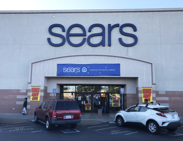 N. HOLLYWOOD, CA - DECEMBER 15: Sears store closes in N. Hollywood, California on December 15, 2019. (Photo by Jim Steinfeldt/Michael Ochs Archives/Getty Images)