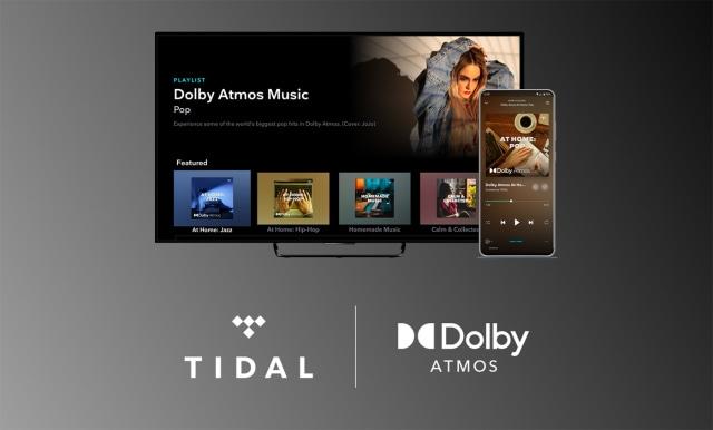 Tidal Dolby Atmos