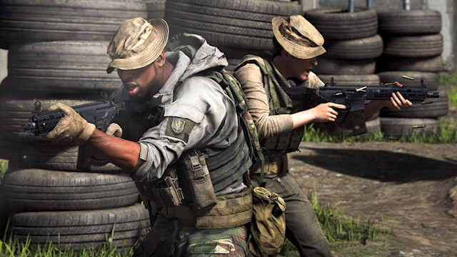 Two-versus-two multiplayer in 'Call of Duty: Modern Warfare'