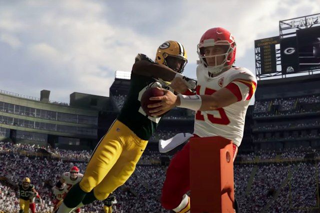 'Madden NFL 21' on Xbox Series X