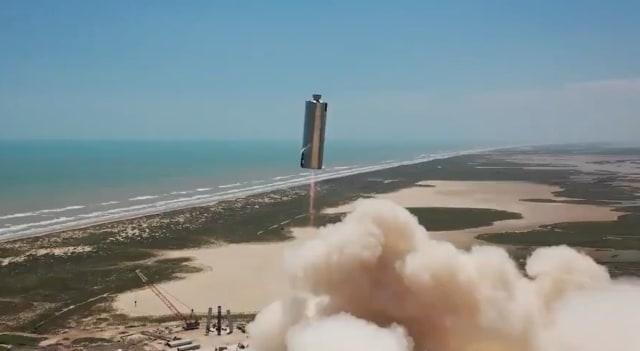 SpaceX SN6 test flight