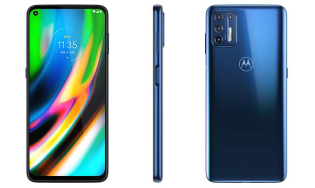 Motorola G9 smartphone