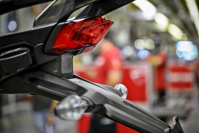 Ducatti Multistrada V4 radar