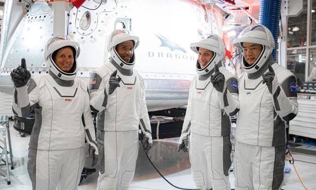 SpaceX Crew Dragon Crew-1 astronaut training