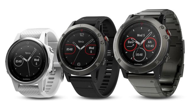 Garmin Fenix 5 watch series