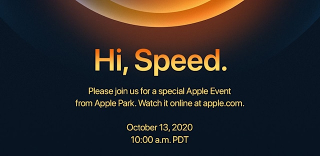 Apple 2020 iPhone event invite