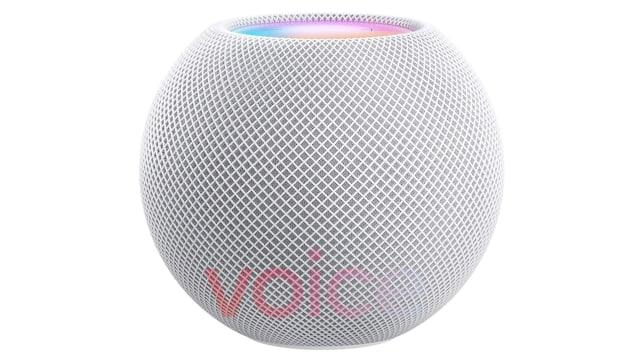 Apple HomePod mini smart speaker leak