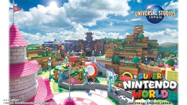 Super Nintendo World opening in spring of 2021