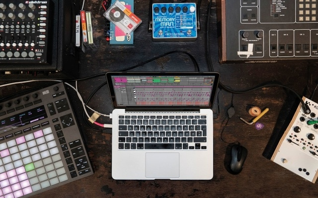 Ableton's Live 10 Lite software