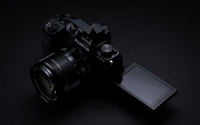 Fujifilm X-S10 APS-C mirrorless camera