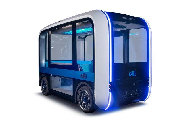 Olli 2.0 driverless shuttle