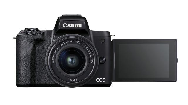 Canon EOS M50 Mark II APS-C mirrorless camera