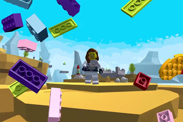 Lego Microgame in Unity