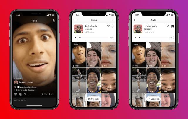 Instagram is making Reels' audio features more like TikTok.