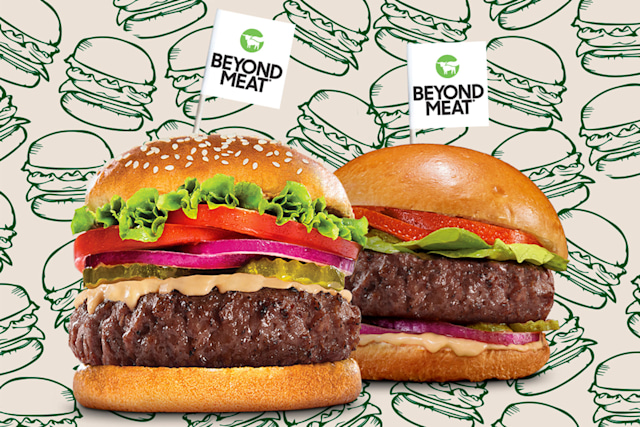 Beyond Meat burgers for 2021