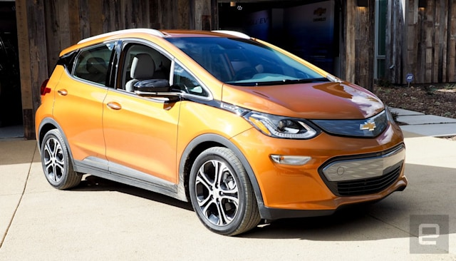 GM's Chevy Bolt EV