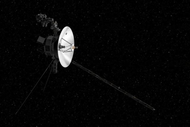 NASA Voyager 2 probe (artist's rendering)
