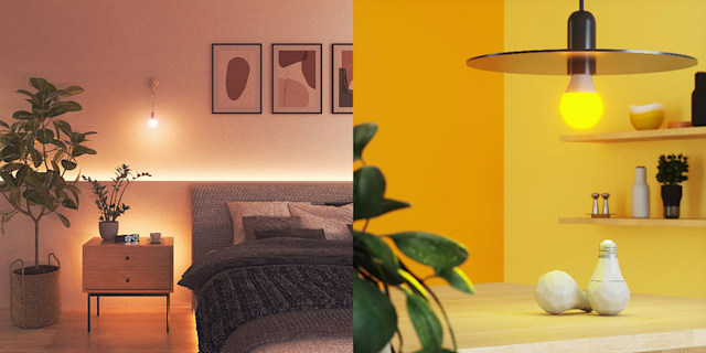 Nanoleaf Essentials bulb and lightstrip