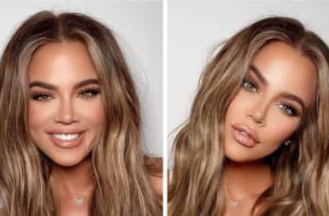 Khloe Kardashian Jokes About 'Weekly Face Transplant'