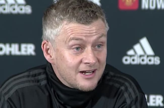 Solskjaer dismisses Klopp's criticism of Man Utd