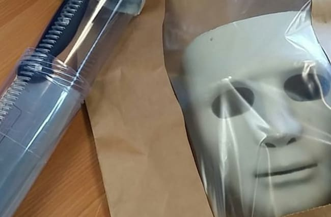 Knifeman wearing horror mask arrested in Newquay