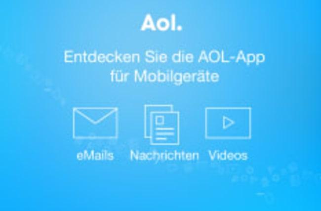 AOL-App für unterwegs
