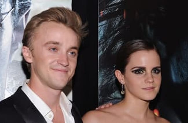 Emma Watson And Tom Felton's Have 'Harry Potter' Reunion