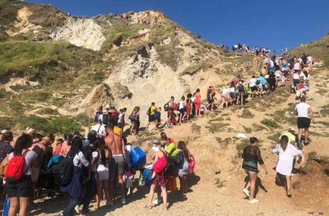 Unlimited travel led to 'unacceptable' visitor numbers