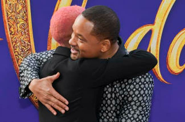 Will Smith Calls Out Son For Being Late To 'Aladdin' Premiere
