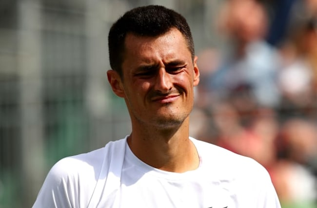 Ticked off: Tomic fails with Wimbledon prize money appeal