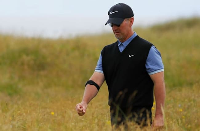 David Duval cards THIRTEEN on one hole at The Open