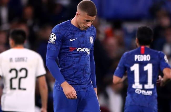 Chelsea's Champions League woe as Barkley misses penalty