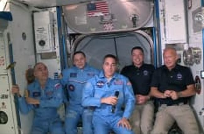 Trotz Hurrikan: ISS-Astronauten kommen zurück
