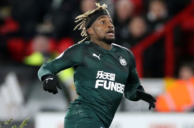 Newcastle forward Saint-Maximin paid the price for pace