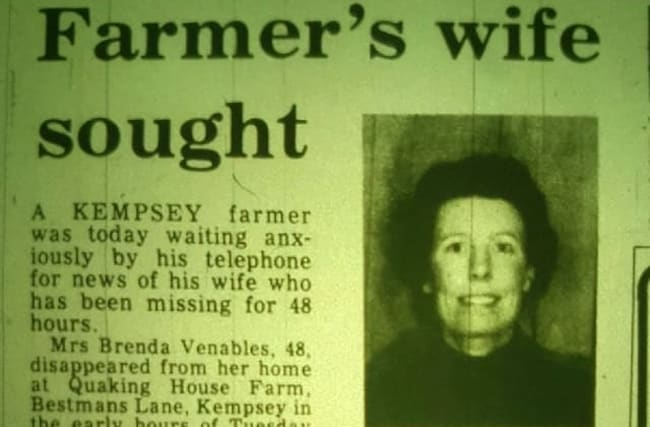 Septic tank remains could be of woman missing since 1982