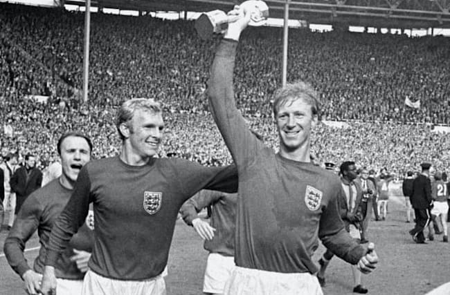 Jack Charlton kept his World Cup winner's medal in odd place