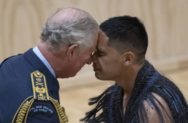 In pictures: Maori welcome for Charles and Camilla