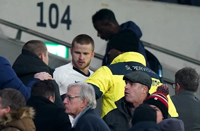 Tottenham's Eric Dier given four-game ban for confronting fan