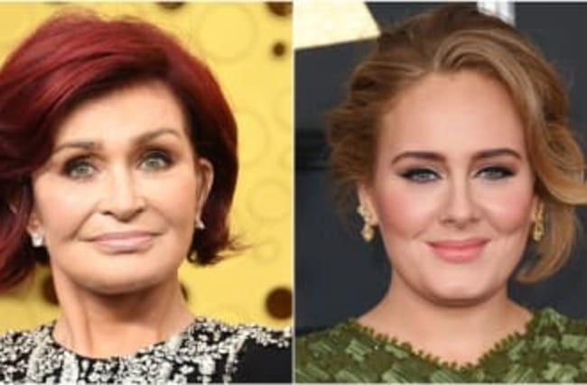 Sharon Osbourne Has Cringey Take On Adele's Weight Loss