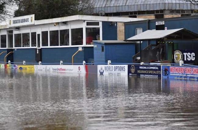 Flooded non-league side in plea for big clubs' repair bills help