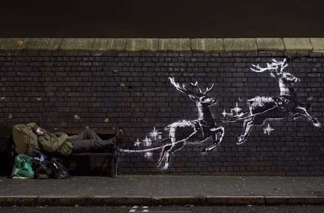 Banksy to raise money for homeless after latest artwork