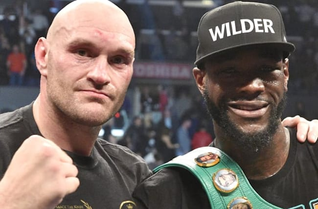 Fury and Wilder ready to settle unfinished business