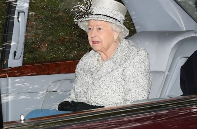 What restrictions does the Queen face under lockdown?