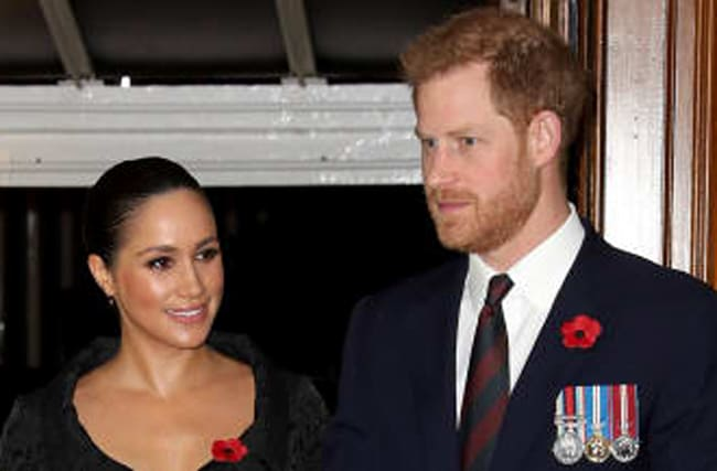 Harry And Meghan Release Previously Unseen Engagement Pic