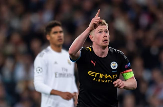 Manchester City fight back to claim first leg advantage