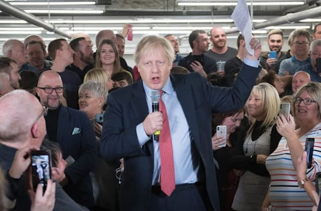 Channel 4 sorry for misquoting Johnson in speech