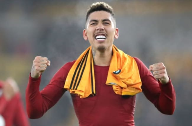 Firmino's late strike fires Liverpool to win at Wolves