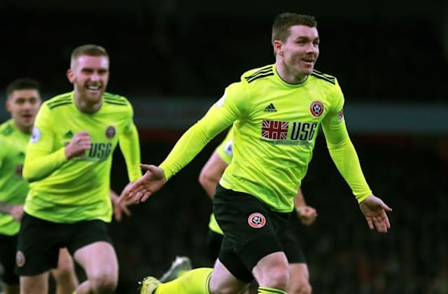 Fleck nets late equaliser as Blades hold Gunners